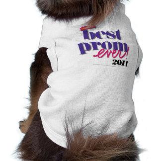 La mejor púrpura del baile de fin de curso nunca - ropa de perros