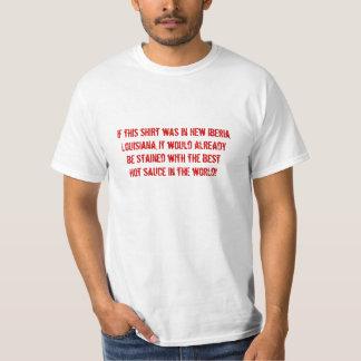 ¡La mejor salsa caliente del mundo! Camisas