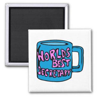La mejor secretaria de los mundos iman de nevera