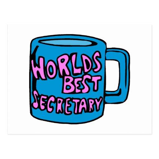 La mejor secretaria de los mundos postal