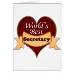 La mejor secretaria del mundo tarjeton