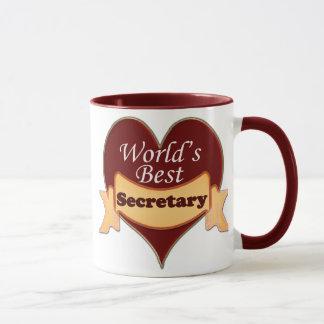 La mejor secretaria del mundo taza