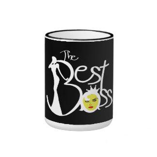 La mejor señora de Boss del mundo Tazas De Café