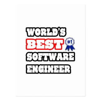 La mejor Software Engineer del mundo Postal