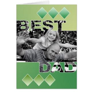 La mejor tarjeta de felicitación del papá