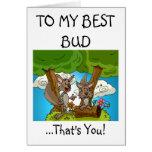 La mejor tarjeta de felicitaciones del brote