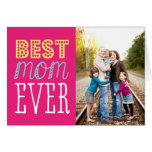 La mejor tarjeta del día de madre de la mamá nunca