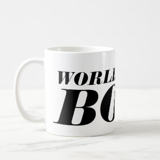 La mejor taza de café de Boss del mundo