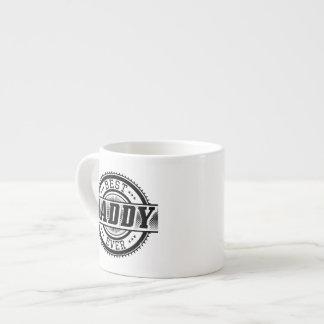 La mejor taza de café del papá nunca taza espresso