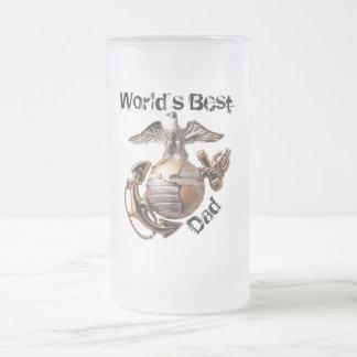 La mejor taza de cerveza del papá del mundo