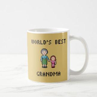 La mejor taza de la abuela de 8 mundos del pedazo