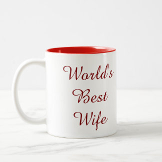 La mejor taza de la esposa del mundo