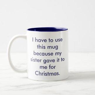La mejor taza de la hermana