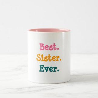 La mejor taza de la hermana nunca