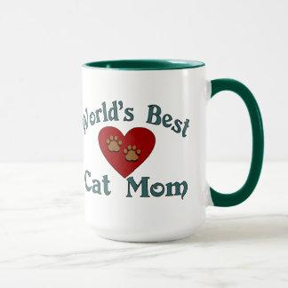 La mejor taza de la mamá del gato del mundo