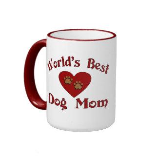 La mejor taza de la mamá del perro del mundo