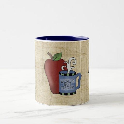 La mejor taza de la taza de café de Apple del prof