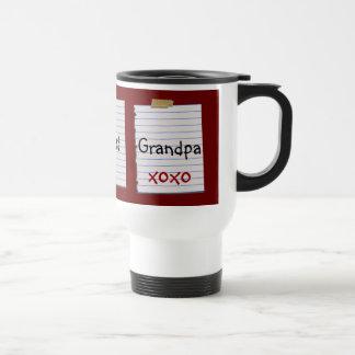 La mejor taza del abuelo del mundo único