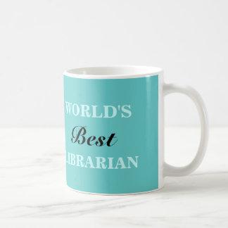 La mejor taza del bibliotecario del mundo