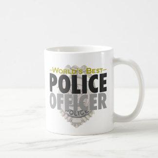 La mejor taza del oficial de policía del mundo