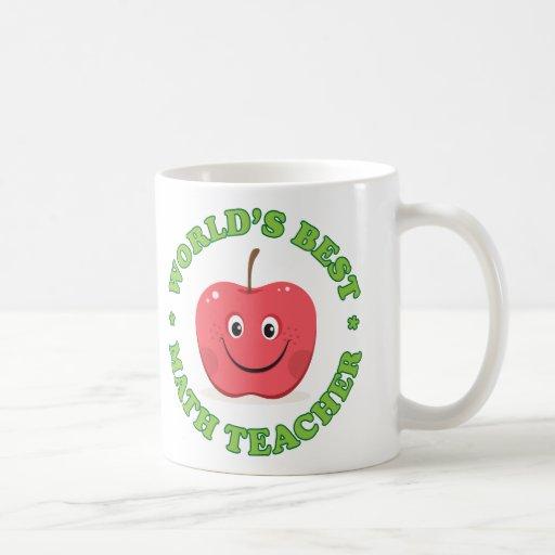 La mejor taza del profesor de matemáticas de los m