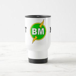 La mejor taza del viaje del hombre - blanco