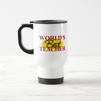La mejor taza del viaje del profesor del mundo