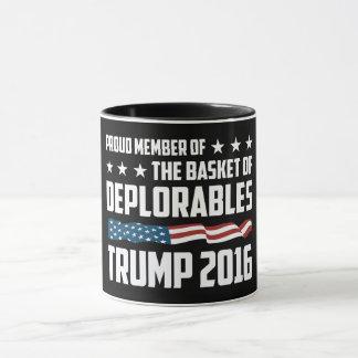 ¡La mejor taza para deplorable orgulloso! ¡Para