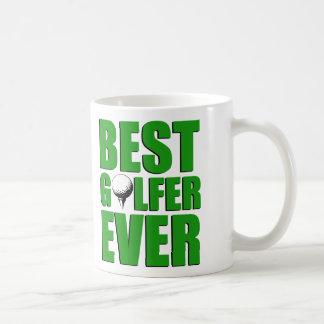 La mejor taza siempre divertida del golfista