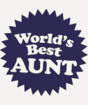 La mejor tía del mundo camisetas
