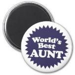 La mejor tía del mundo imán