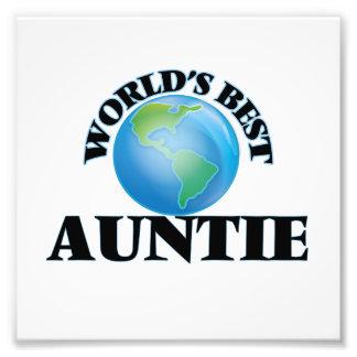 La mejor tía del mundo impresiones fotograficas