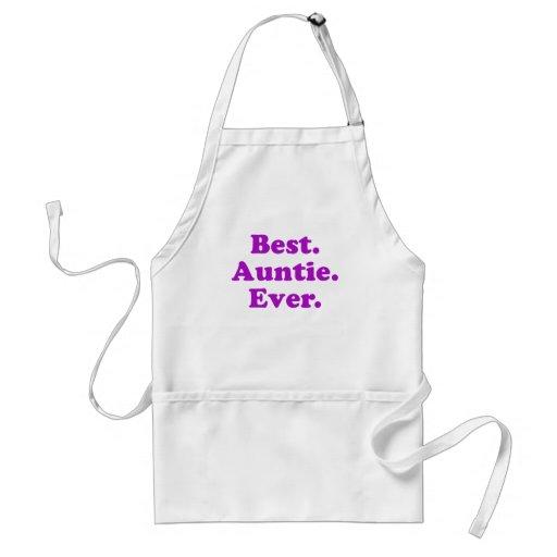 La mejor tía Ever Delantales