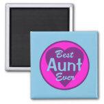 La mejor tía Ever Magnet Iman De Frigorífico
