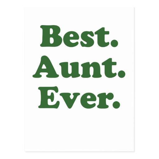 La mejor tía Ever Postales