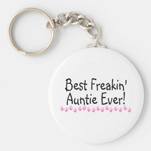 La mejor tía Every de Freakin Llaveros Personalizados