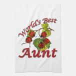 La mejor tía Ladybugs del mundo Toallas