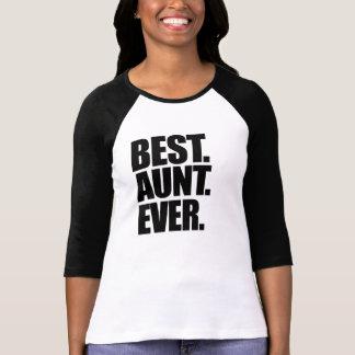 La mejor tía nunca camisetas