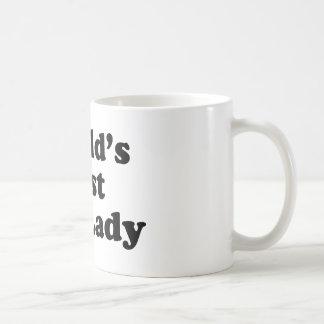 La mejor vagabunda del mundo tazas de café