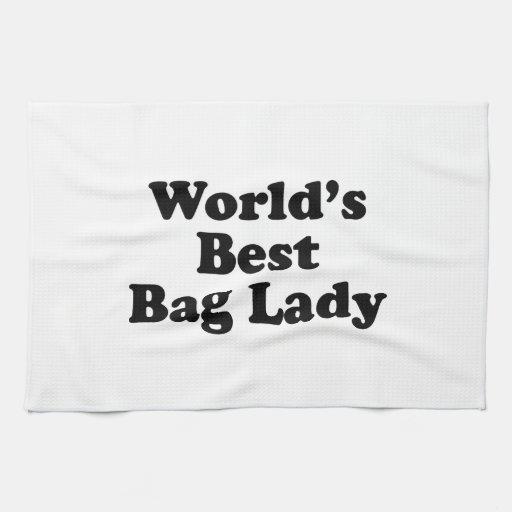 La mejor vagabunda del mundo toallas