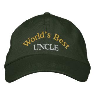 La mejores gorra de béisbol/gorra del tío Embroide Gorra Bordada