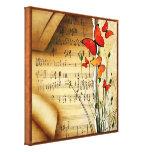 La melodía del verano envolvió la impresión de la  impresion de lienzo