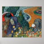 La memoria de Van Gogh del jardín en Etten (1888) Posters