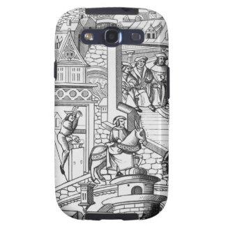 La menta, después de un grabar en madera en 'De l' Galaxy S3 Cobertura