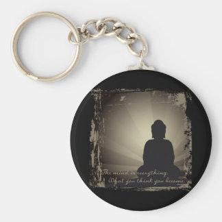 La mente de Buda es todo Llavero