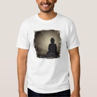 La mente de Buda es todo Playeras