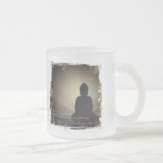 La mente de Buda es todo Tazas De Café
