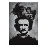 La mente de Edgar Allen Poe Póster