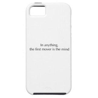 La mente es el primer motor iPhone 5 cárcasas