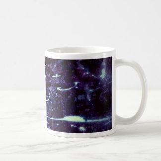 La mente pintada taza de café